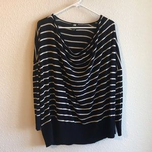 H&M Oversized Long Sleeve Top